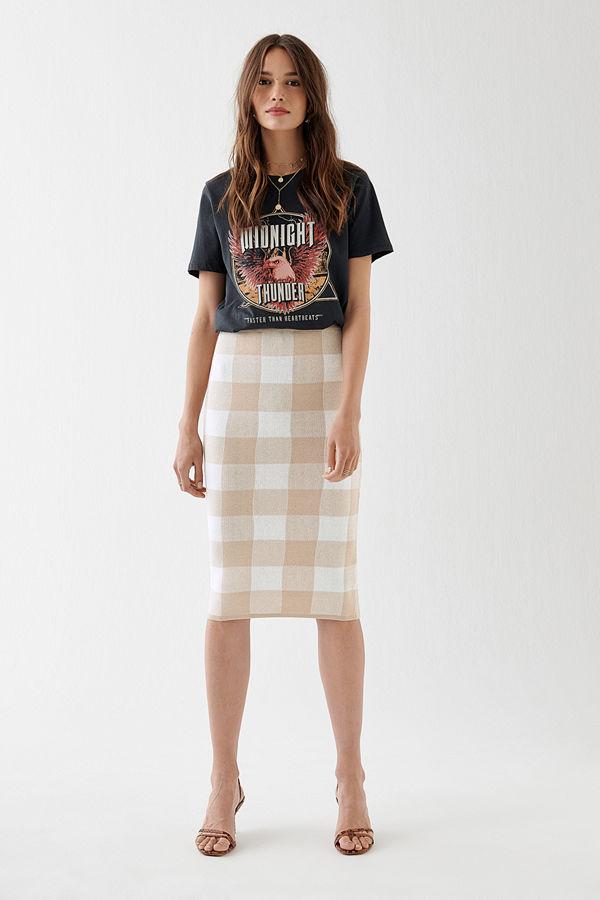 Gina Tricot Natalie knitted skirt