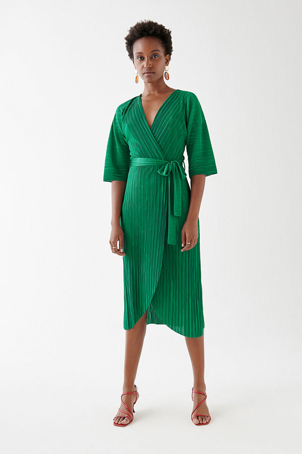 Gina Tricot Vivianne wrap dress
