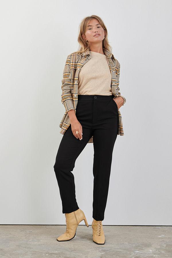 Gina Tricot svarta byxor Karin slacks trousers