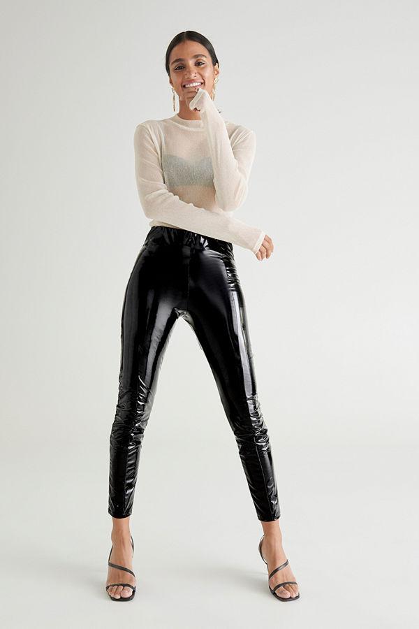 Gina Tricot Jacki patent leggings