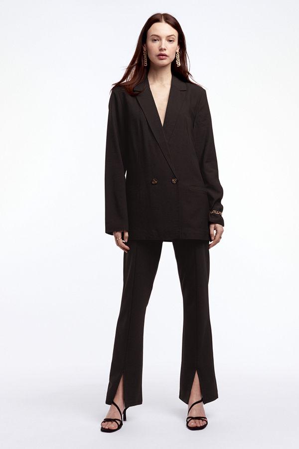 Gina Tricot byxor Freja slit trousers