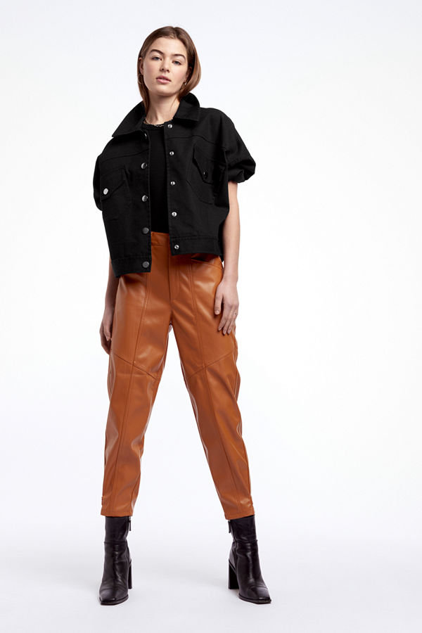 Gina Tricot byxor Isabel PU trousers