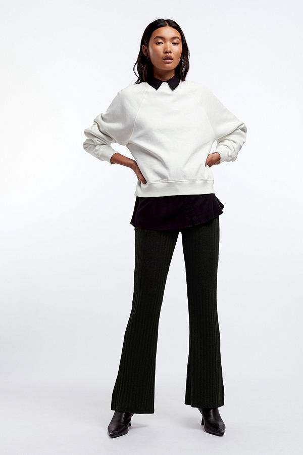 Gina Tricot byxor Tara rib trousers