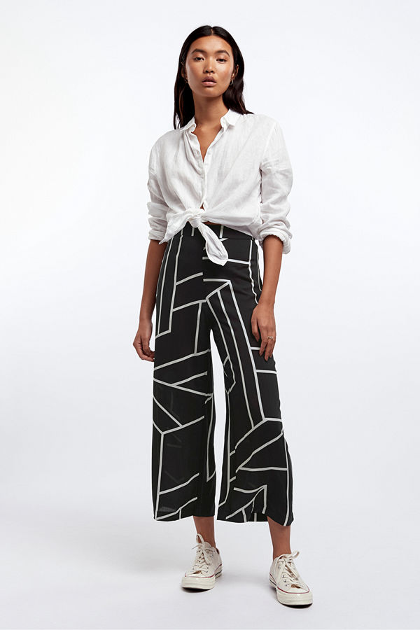 Gina Tricot byxor Elise culotte trousers