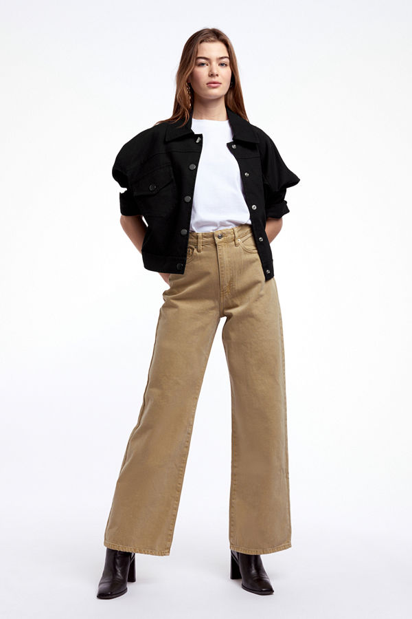 Gina Tricot byxor Wide leg jeans