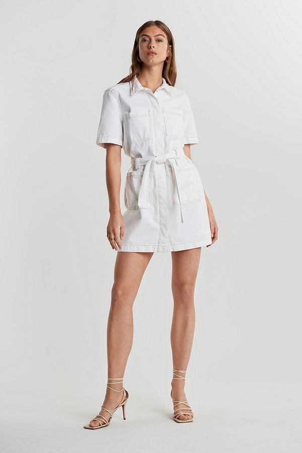 Gina Tricot Utility denim dress