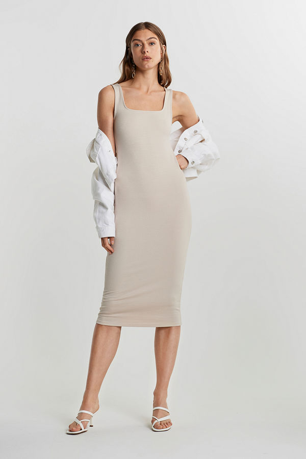 Gina Tricot Niki rib dress