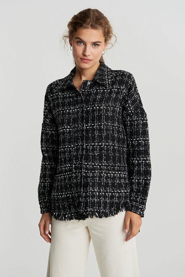 Gina Tricot Anna tweed shacket