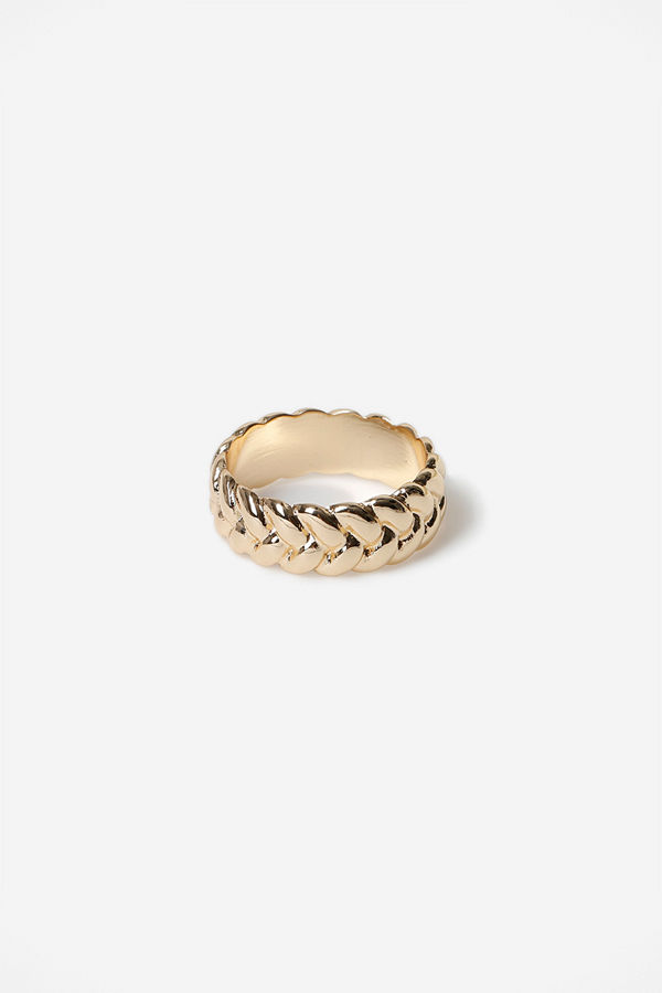Gina Tricot GOLD KNOT RING