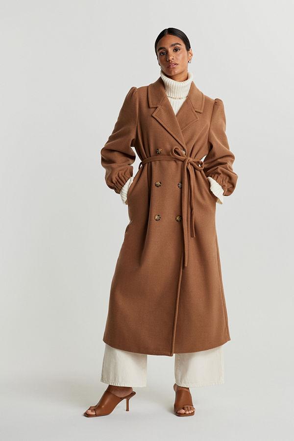 Gina Tricot Gun puff sleeve coat