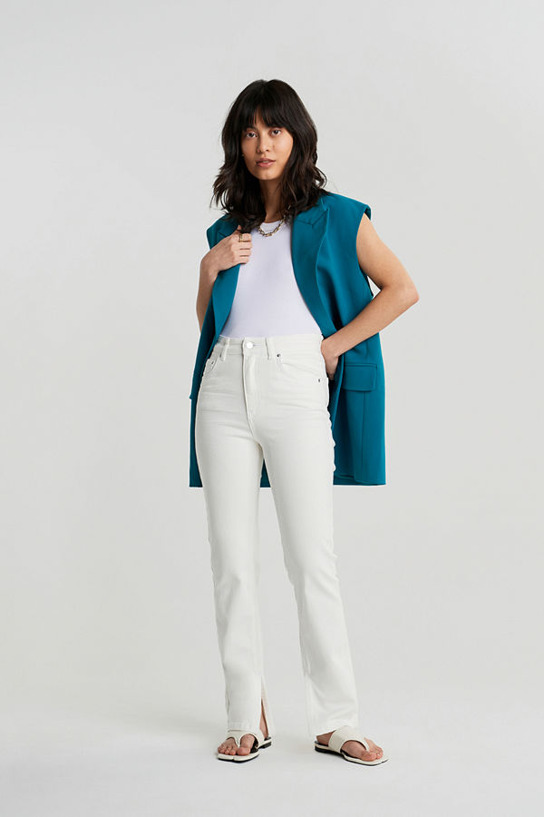 Gina Tricot Comfy petite slit jeans