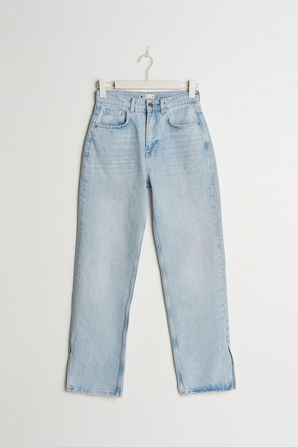 Gina Tricot 90s petite slit jeans