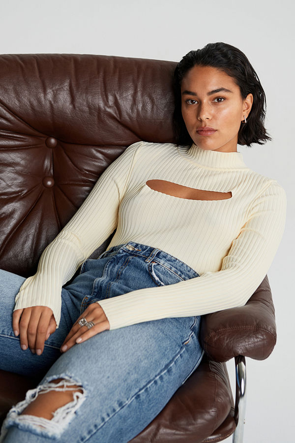 Gina Tricot Kim knitted top