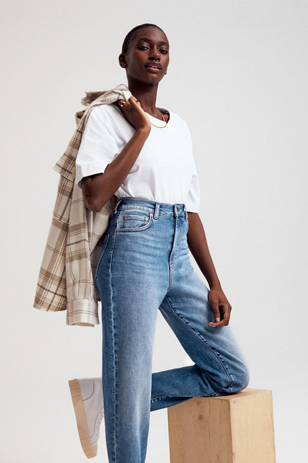 Gina Tricot Comfy tall mom jeans