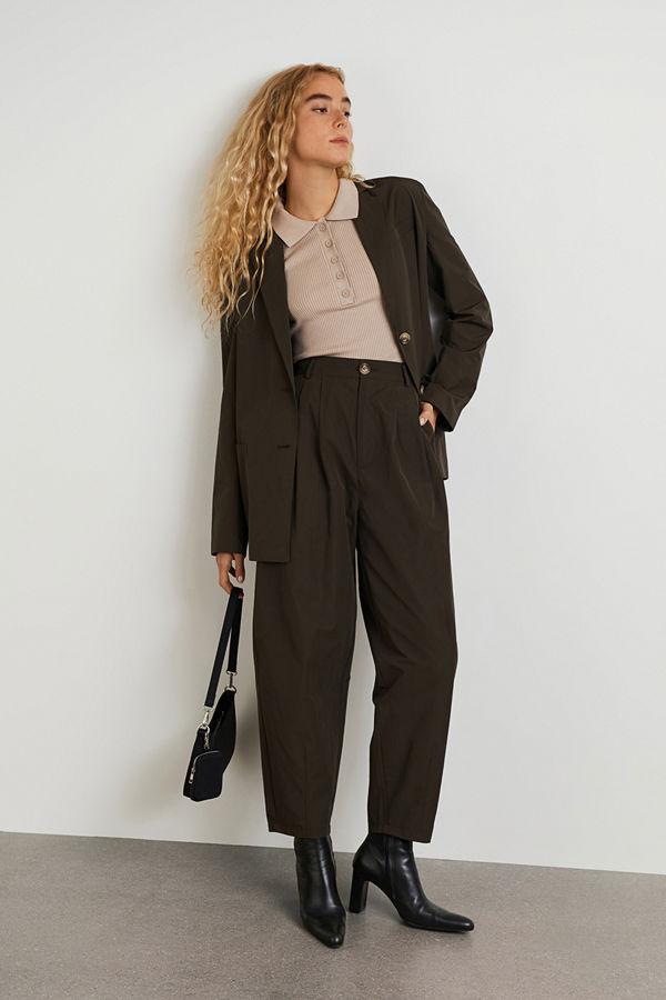 Gina Tricot svarta byxor Valborg trousers