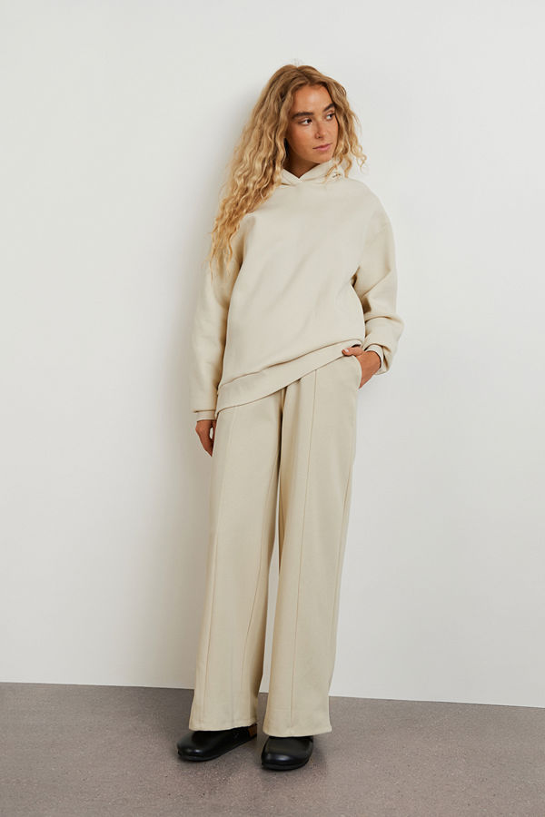 Gina Tricot omönstrade byxor Louise trousers
