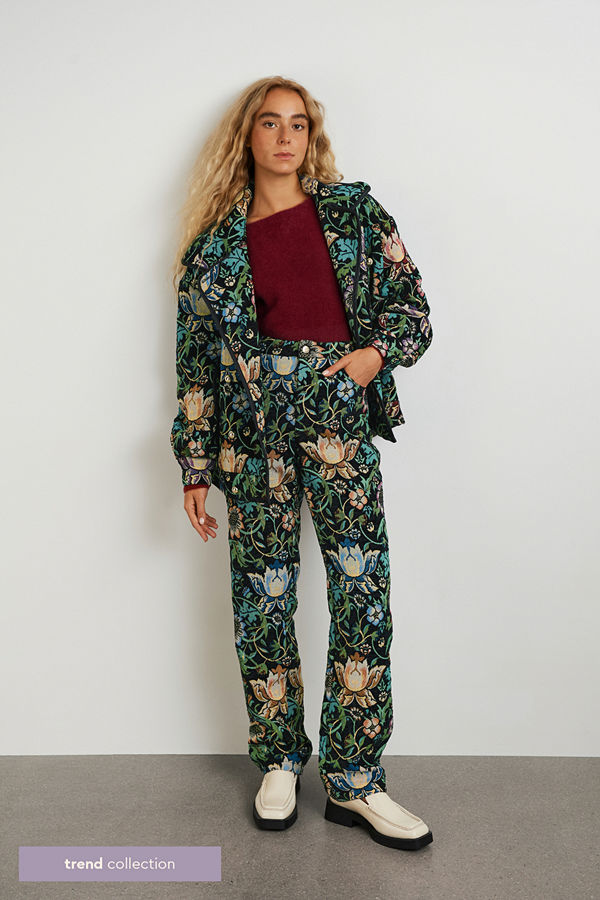 Gina Tricot mönstrade byxor Babba TREND trousers