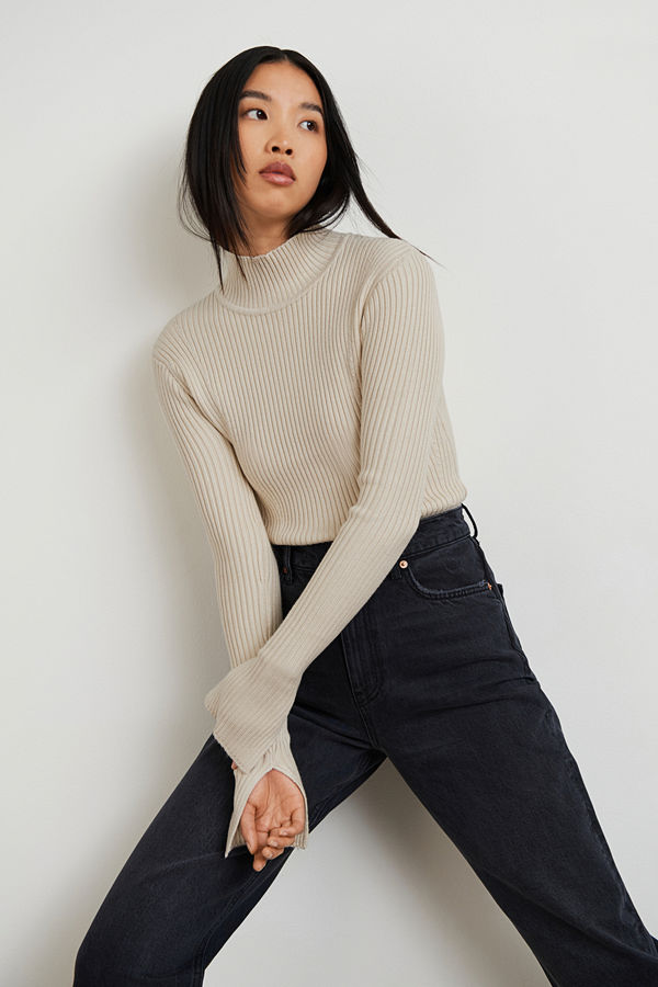 Gina Tricot Isabella knitted top