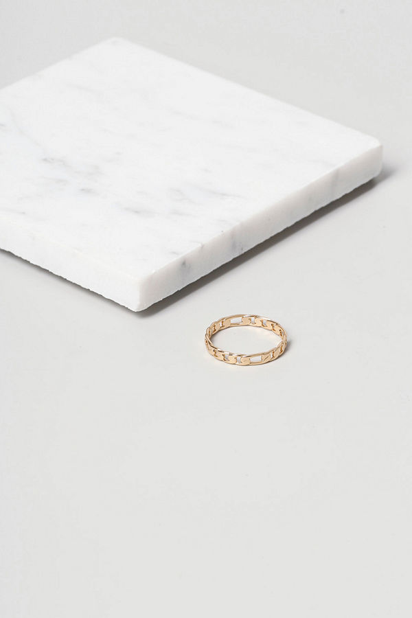 Gina Tricot Finer Gold Chain Ring