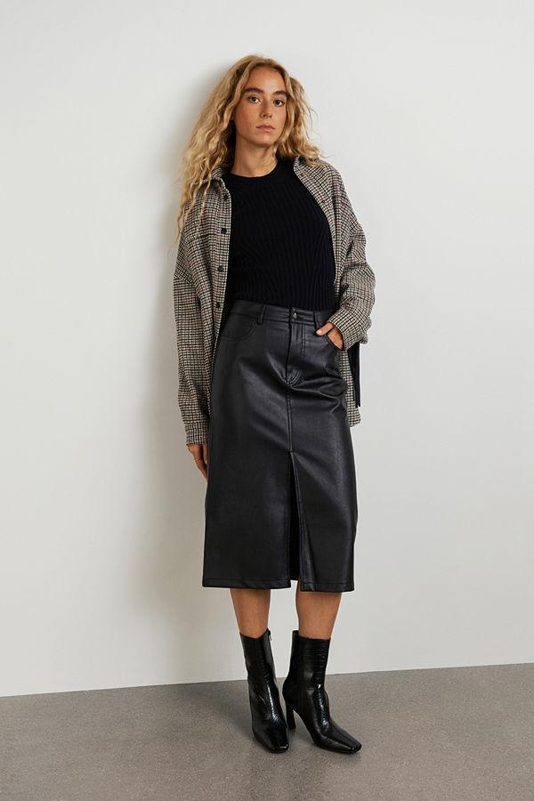 Gina Tricot Nico pu skirt