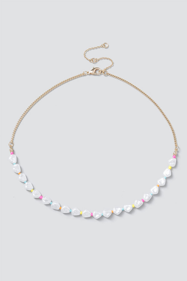 Gina Tricot halsband Pearl & Bead Choker