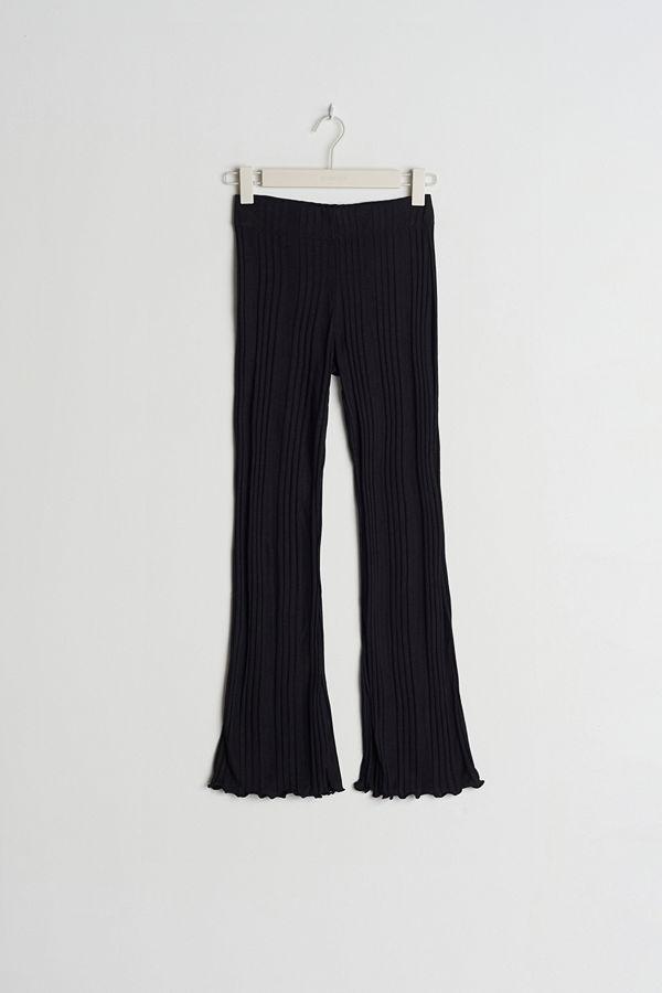 Gina Tricot byxor Irma PETITE rib trousers