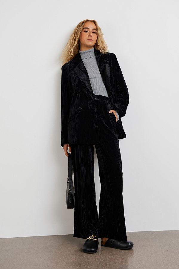 Gina Tricot byxor Kirsten velvet trousers