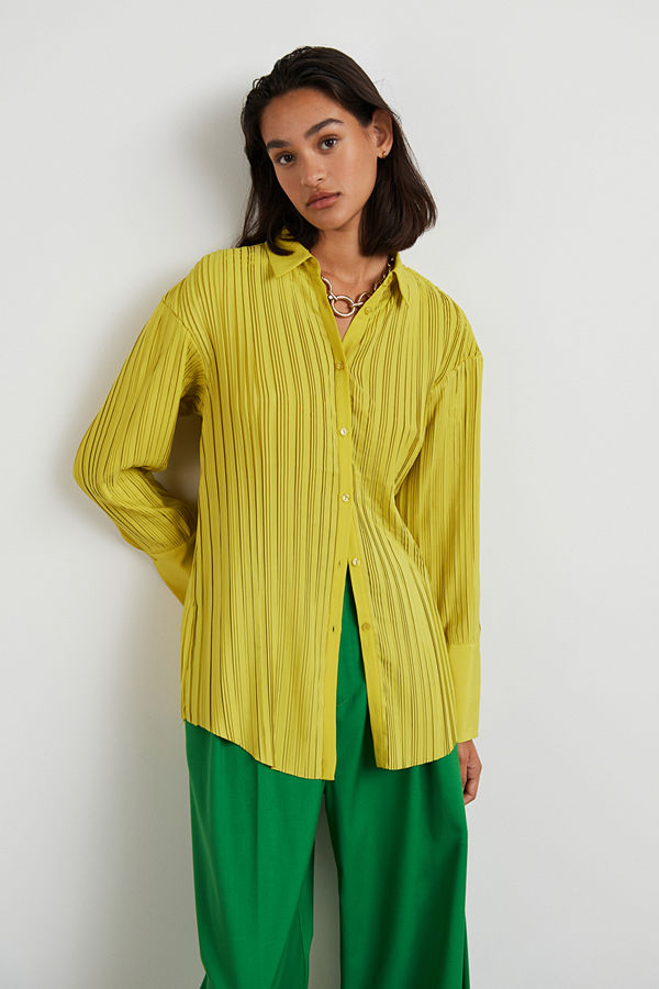 Gina Tricot Acra pleated shirt