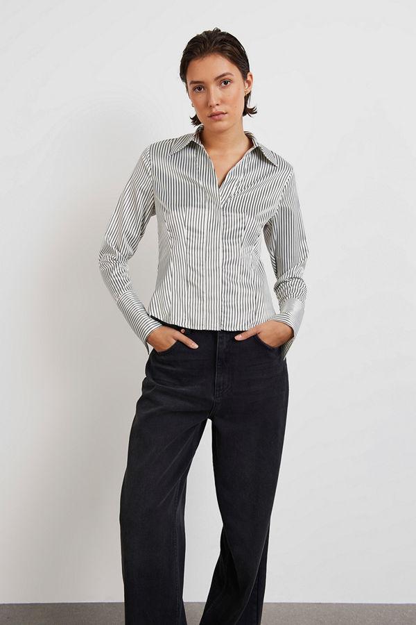 Gina Tricot Chania satin shirt