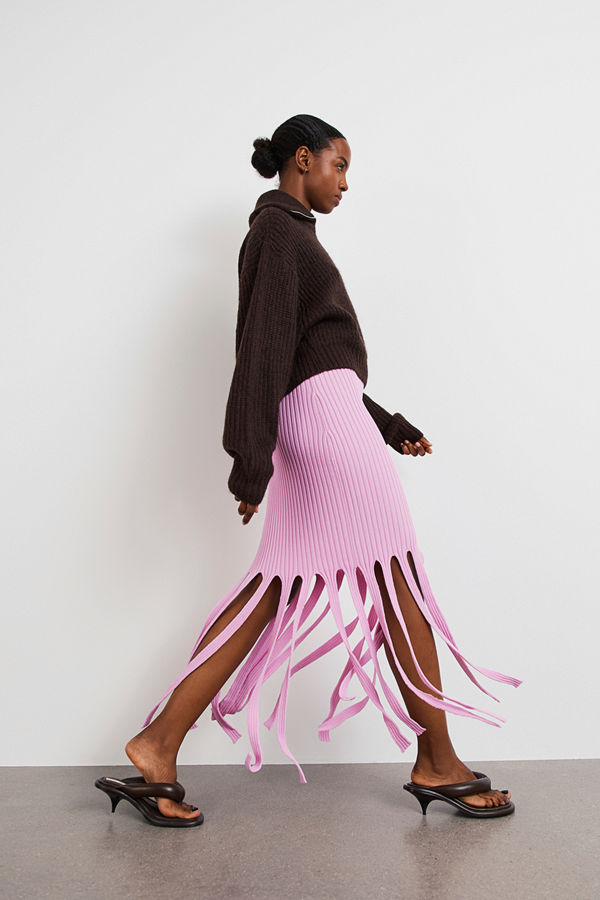 Gina Tricot Eir knitted skirt