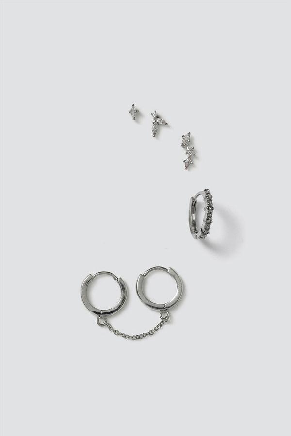 Gina Tricot örhängen Finer Crystal Cluster Earring Pack