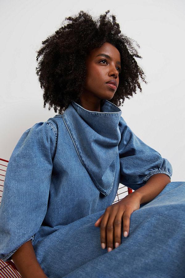 Gina Tricot MW denim scarf