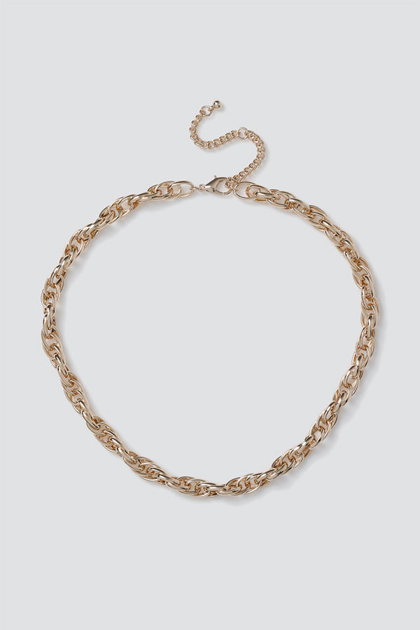 Gina Tricot halsband Gold Chunky Link Chain
