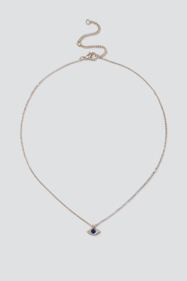 Gina Tricot halsband Gold Eye Ditsy Necklace