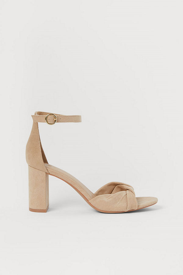 H&M Sandaletter beige