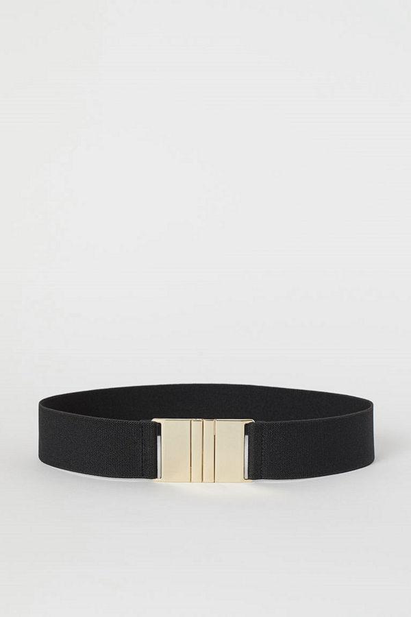 H&M Elastiskt midjeskärp svart