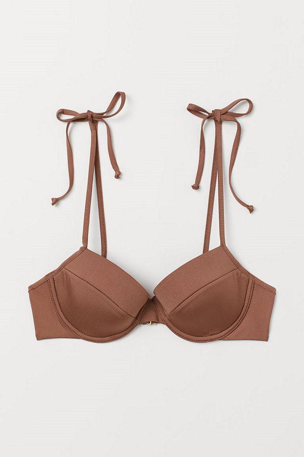H&M Bikinibh med bygel beige