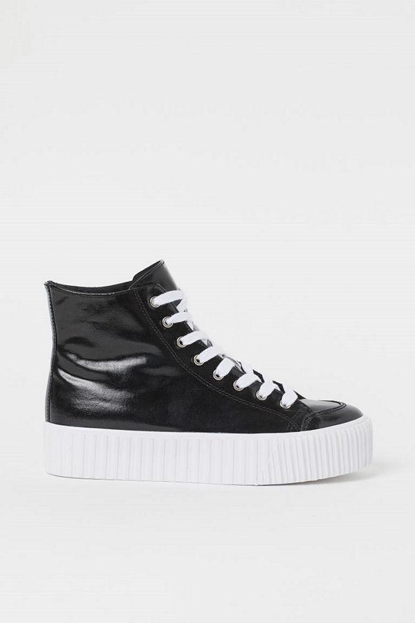 H&M Platåsneakers svart