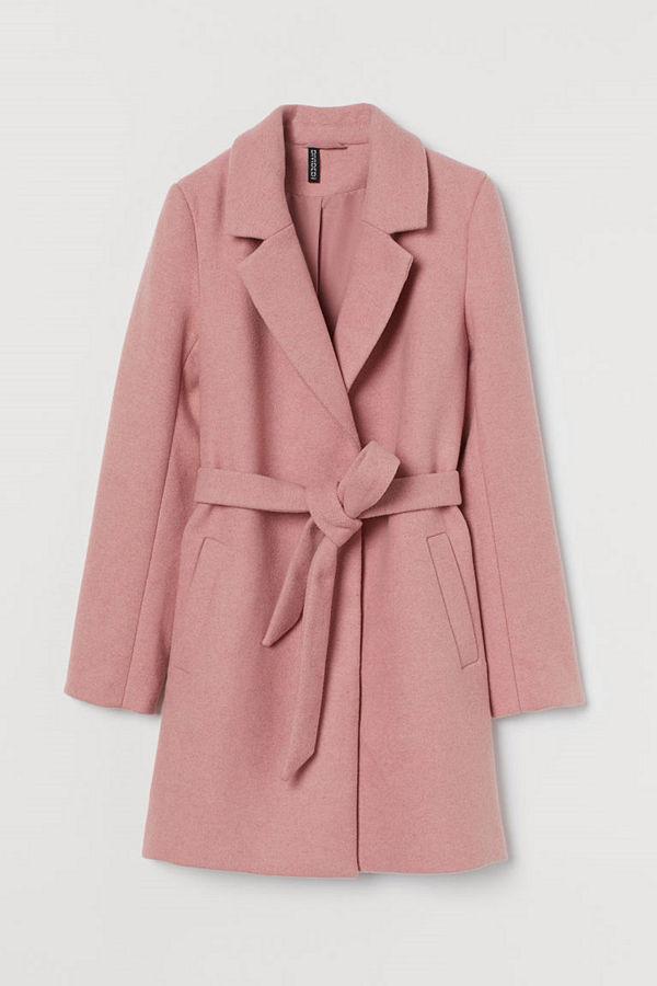H&M Kappa i ullmix rosa