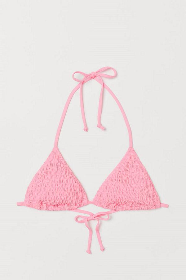 H&M Trekantsbikini-bh rosa