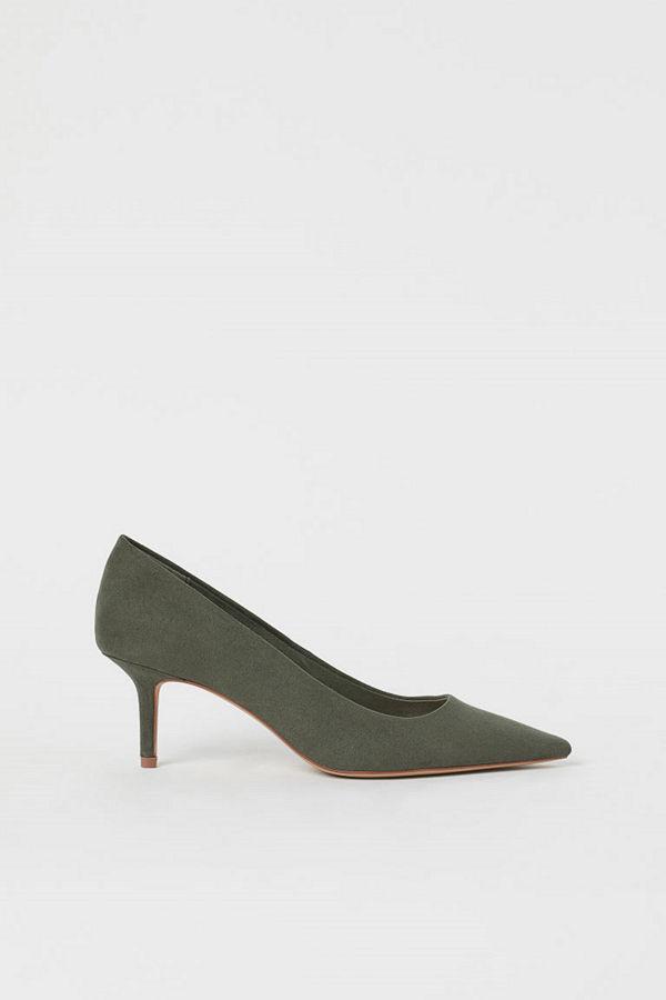 H&M Pumps grön