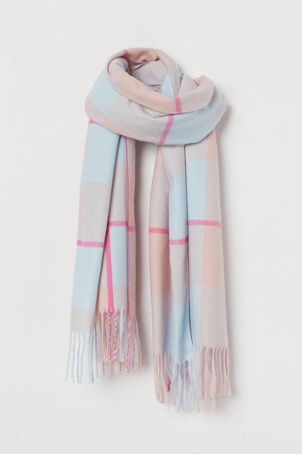 H&M Halsduk rosa