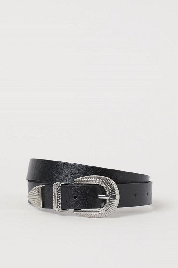 H&M Skärp svart