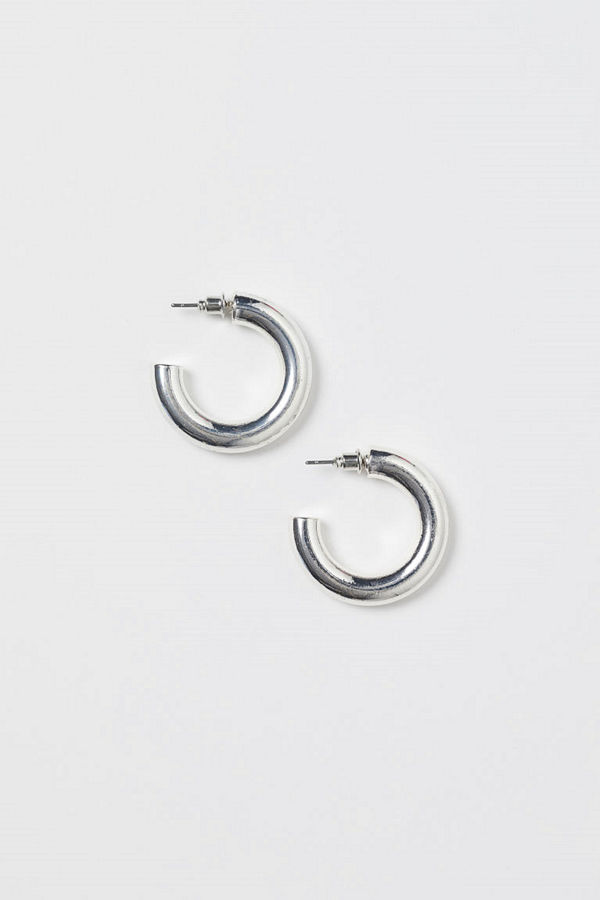 H&M Örhängen silver