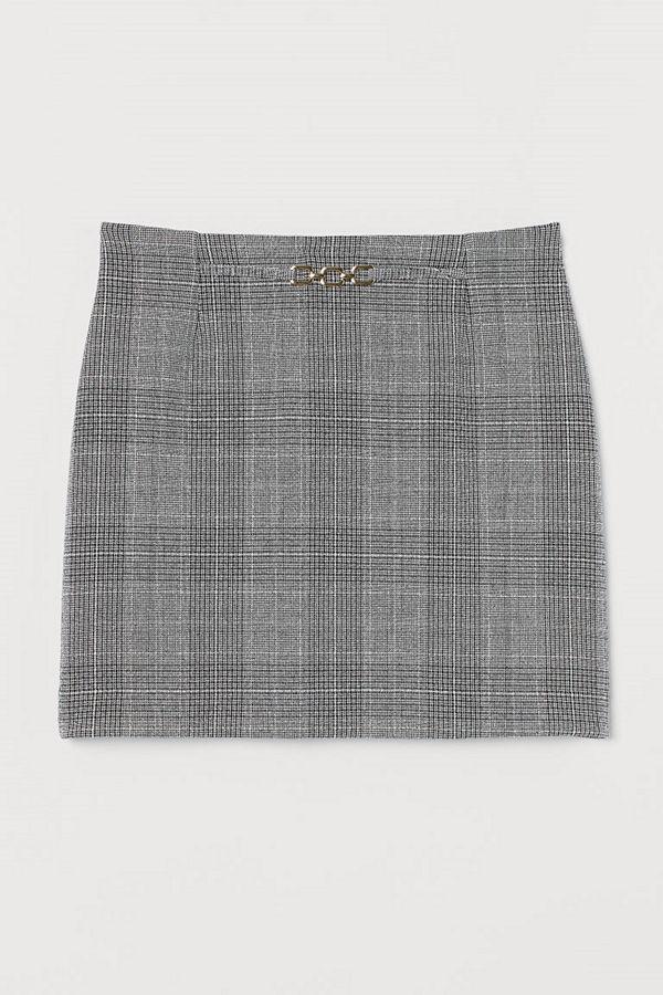 H&M Minikjol med kedja grå