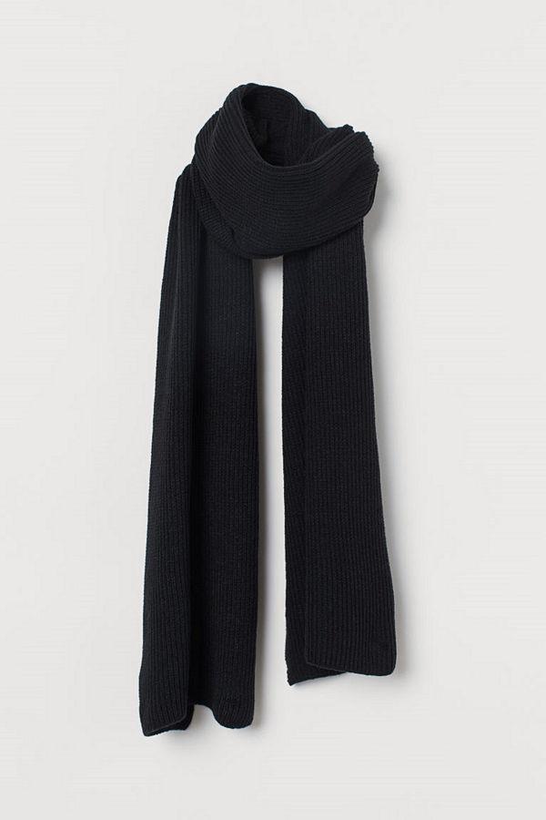 H&M Halsduk svart