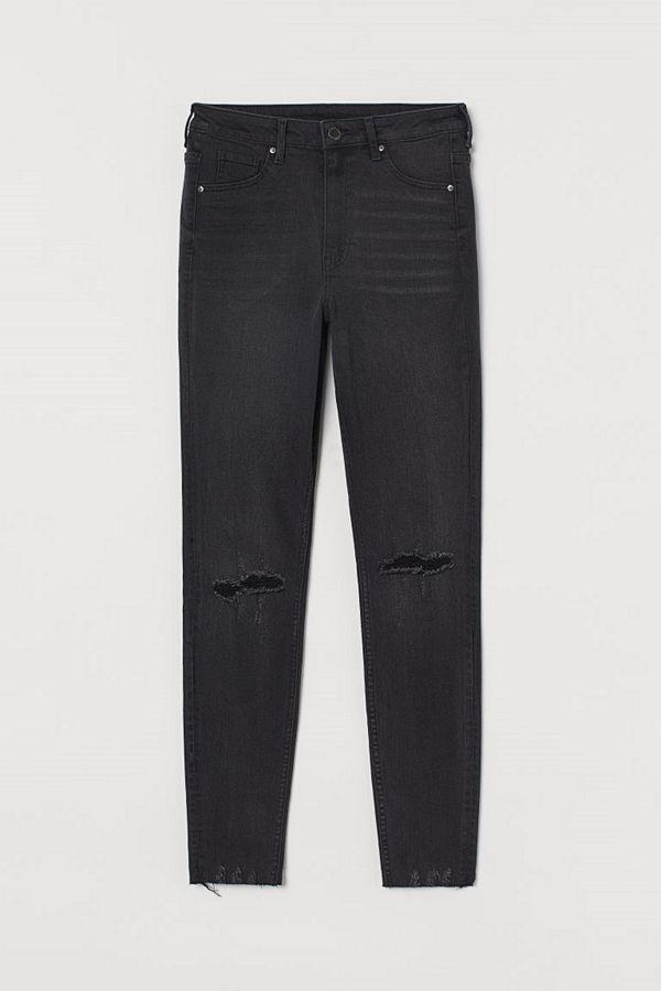 H&M Curvy High Jeggings svart