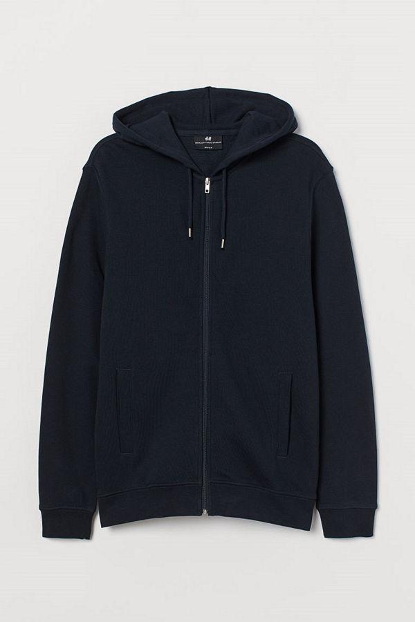H&M Munkjacka Regular Fit blå