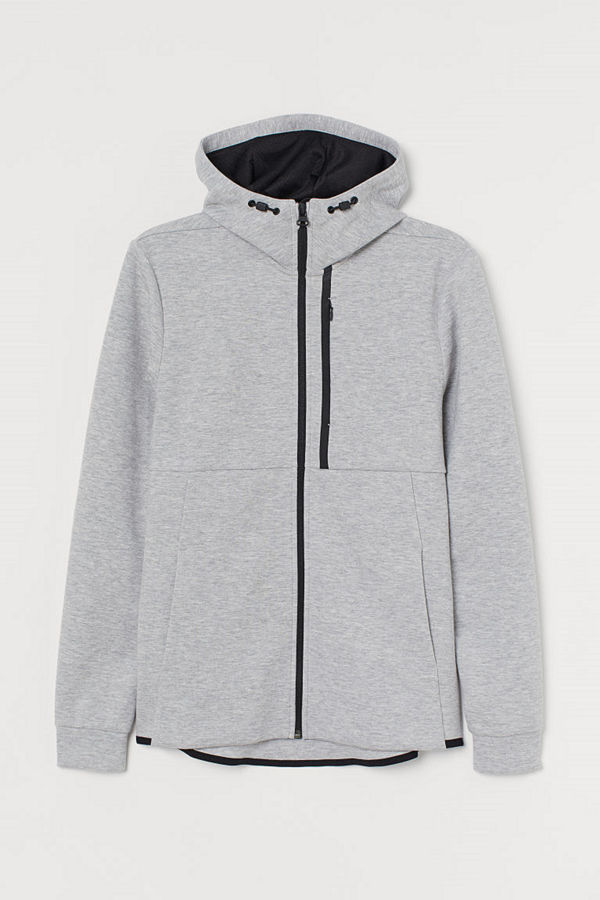 H&M Sportjacka Regular Fit grå
