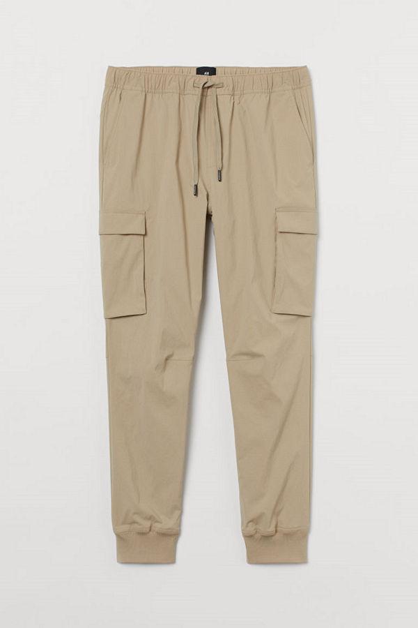 H&M Cargojoggers Slim Fit beige